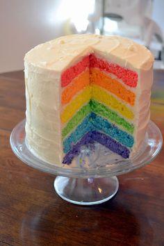 Great ideas for a 'rainbow' themed birthday party!