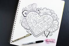 The Best Markers for Hand-Lettering   dawnnicoledesigns.com