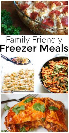 Easy freezer meals f