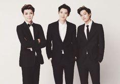 [HQ] EXO for Lotte Duty Free, calendar and magazine editorials - - Minus sehun Chanyeol kai