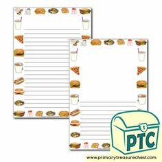 Fast Food Takeaway Role Play Resources - Primary Treasure Chest Teaching Activities, Teaching Ideas, Ourselves Topic, Page Borders, Candy Shop, Role Play, Treasure Chest, Sweets, Foods