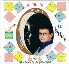 10. Geburtstag (Größe 12 x 12cm) Kinderalbum
