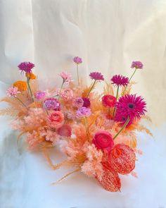 "Felisa Funes on Instagram: ""Electric Peach for @figandwhiskey this weekend 🍑"" Neutral, Peach, Rainbow, Bright, Tableware, Flowers, Color, Instagram, Electric"