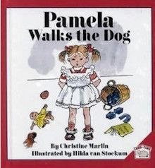 """Pamela Walks the Dog"" is a short and beautifully illustrated narrative about one absorbing series of moments in a child s life. Expect to smile as young Pamela prepares and carries out an activity she has carefully thought through. Written by Christine Marlin and illustrated by her grandmother, Hilda van Stockum. This hardcover book is geared for children ages 3+."