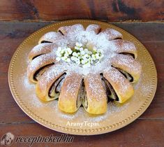 Hungarian Desserts, Ring Cake, Scones, Apple Pie, Oreo, Dishes, Cookies, Fruit, Ethnic Recipes