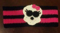 New Monster HighInspired Crocheted Head by LakeLieseBoutique, $15.00