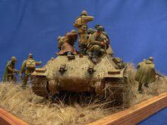 Dioramas and Vignettes: Soviet tank riders, photo #5