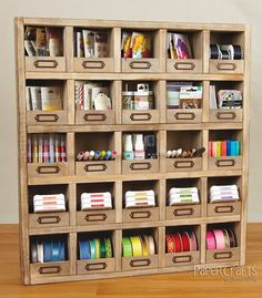Moxie Fab World: Creative Spaces Link Party: Show Me Your Storage Ideas