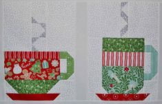in from the cold quilt link has a free pattern
