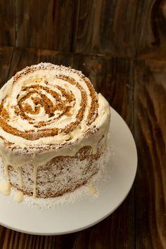 pumpkin roll cake oh