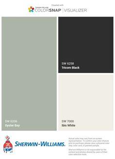 Exterior Color Schemes, Paint Color Schemes, Exterior Paint Colors For House, Grey Exterior, Paint Colors For Home, Outside House Colors, House Paint Color Combination, Farmhouse Paint Colors, Favorite Paint Colors