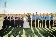 While a herd of horses tried to steal the spotlight from Paige and Blake on their big day, the Rustic Rose Barn wedding was beautiful from floor to ceiling!