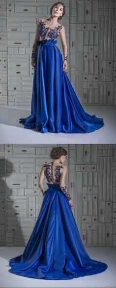Chrystelle Atallah 2014 Arab Royal Blue