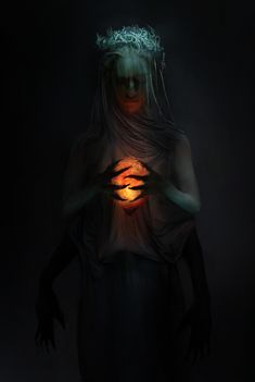 """Soul Keeper – fantasy concept by Pat Fix "" Arte Horror, Horror Art, Arte Fashion, Ange Demon, Dark Photography, Macabre Photography, Halloween Photography, Dark Fantasy Art, Gothic Art"