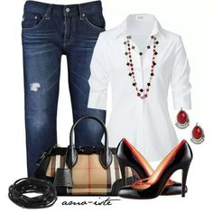 Fall Outfits for Women Over 40 | http://fashionistatrends.com ...