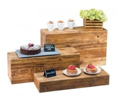 Browse our great selection of buffet and catering display items, such as food display bins, bowls stands and displays, crock holders, display barrels and more! Patio Bar Set, Pub Table Sets, Rectangle Plates, Decoration Evenementielle, Catering Display, Cafe Display, Catering Buffet, Wood Display, Catering Ideas