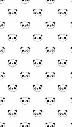 We love pandas '-' Panda Wallpaper Iphone, Handy Wallpaper, Kawaii Wallpaper, Tumblr Wallpaper, Screen Wallpaper, Pattern Wallpaper, Cute Backgrounds, Cute Wallpapers, Wallpaper Backgrounds