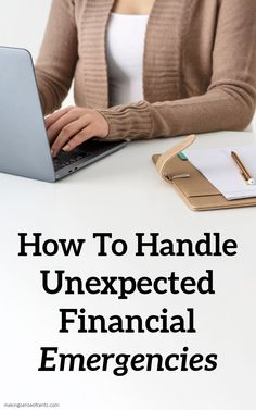 How To Handle Unexpected Financial Emergencies #ad #AlliantPartner Budgeting Tools, Budgeting Finances, Ways To Save Money, Money Saving Tips, Money Tips, Manifesting Money, Managing Your Money, Finance Tips, Money Management
