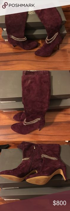 Beautiful Burgundy Vince Camuto Boots Size 10 Fashionable with the Burgundy Boots Vince Camuto Shoes