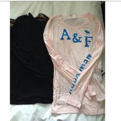 Abercrombie & Fitch light pink long sleeve Prelovrd condition. Abercrombie & Fitch Tops Tees - Long Sleeve