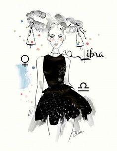 Libra, beautifully balanced