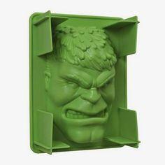 BLOG DOS BRINQUEDOS: Hulk Gelatina Mold
