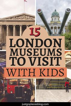 What to do in London with kids when it rains? Go and check out some of the best London museums for kids. Discover the best 15 museums for children in London! Europe Travel Tips, Travel Destinations, European Travel, Travel Guide, Vacation Trips, Vacation Travel, Travel With Kids, Family Travel, London With Kids