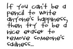 If you can't be a pencil..
