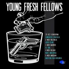 THE YOUNG FRESH FELLOWS - Gira española de 'extintores y txipirones' http://www.woodyjagger.com/2016/10/young-fresh-fellows-gira-extintores-txipirones.html