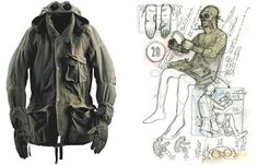 To celebrate the 20th Anniversary of the infamous Mille Miglia jacket used throughout the iconic race during 1988-1989, C.P. Company invited Aitor Throup to design a unique piece to celebrate its 20-year history in 2009.