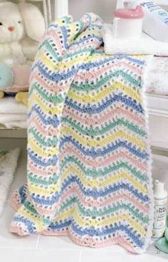 Learn to Crochet Ripple Afghans | LeisureArts.com