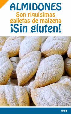 Como cocinar ALMIDONES. Son riquísimas galletas de maizena. ¡Sin gluten!