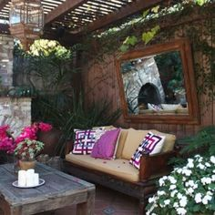 Small Patio Decorating On Pinterest Balconies