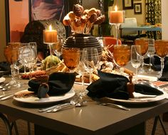 African Table Setting