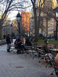 Checkmate.....Washington square park NYC