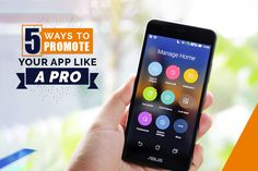 Launching an App? Here are a few ways which will help you to promote your like a pro: Read Here Ads, Like A Pro, 5 Ways, Promotion, Product Launch, Phone, Telephone, Mobile Phones