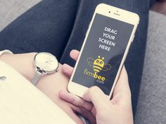 Apple iPhone mockup - free PSD for personal