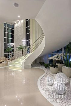 Modern staircase Gathering Series 3 Full Decoration of the Best Home Living Room from Social Medi Home Stairs Design, Home Room Design, Dream Home Design, Modern House Design, Home Interior Design, Interior Decorating, Interior Garden, Mansion Interior, Dream House Interior