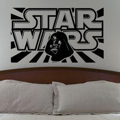 Star Wars Darth Vader Wall Decal Vinyl Sticker Living Room Bedroom Decor. $24.99, via Etsy.