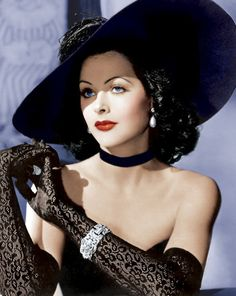 """Hedy Lamarr was an Austrian-American actress celebrated for her great beauty who was a major contract star of MGM's """"Golden Age""""."""