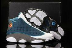 Mens Air Jordan 13 Cool French Blue Retro shoes