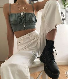 Hipster Outfits, Cute Casual Outfits, Mode Outfits, Summer Outfits, Fashion Outfits, Looks Style, My Style, Mode Lookbook, Mode Streetwear