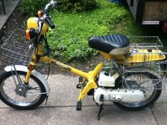 1978 Honda Express 1 - Honda Express Moped Now To Make Mine Look Like This - 1978 Honda Express 1
