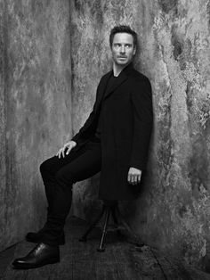 Michael Fassbender for 'Rolling Stone' Russia - January 2017 - Photo: John Russo