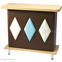 50s Retro Home Bar -- omg I need this in the basement for the kids' snacks