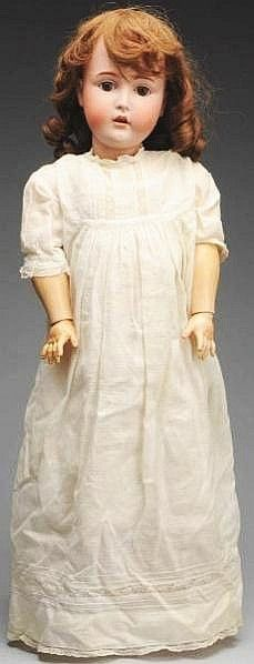 I think this bisque (german) Kestner doll is just beautiful!