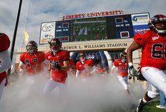 Liberty Flames Football... Hopefully I get there one day. It's been a long 7 years! God has a plan and all the glory!!