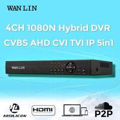WANLIN 4CH CCTV 1080N NVR Digital P2P Video Recorder