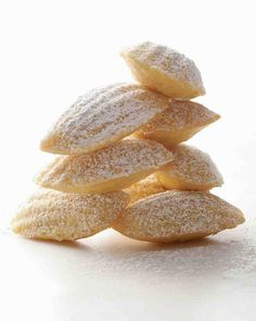 Vanilla Madeleines-- just fill 3/4's and they're wonderful!