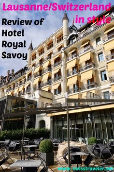 Short trip to Lausanne in the western part of Switzerland Hotel Royal, Lake Shore, Lausanne, Short Trip, Luxury Travel, Switzerland, Westerns, Travel Tips, Restaurants
